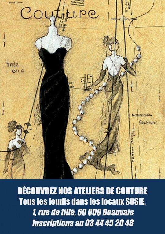 Ateliers<br/>de couture