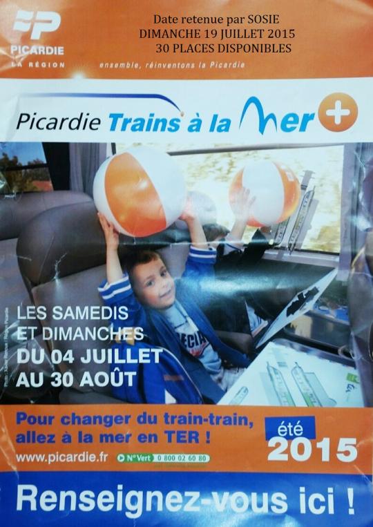 TRAINS A<br />LA MER