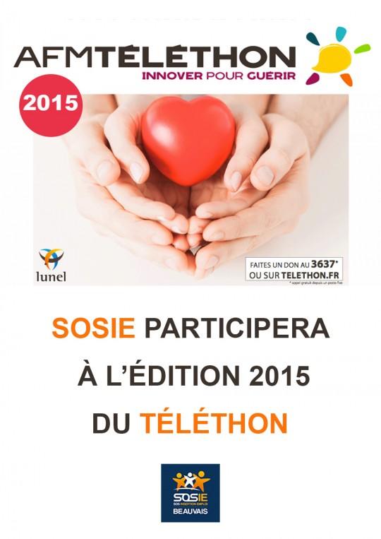 Téléthon<br/>2015
