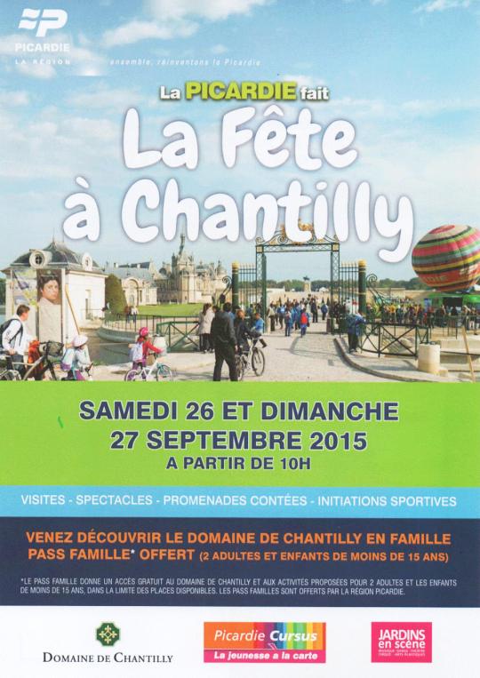 La fête<BR>à Chantilly